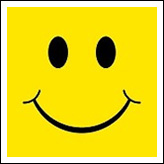 Classic 70's Yellow Happy Face