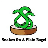 Snakes On A Plane - Snakes On A Plain Bagel