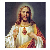 Jesus Peace Sign - Sacred Heart Of Jesus