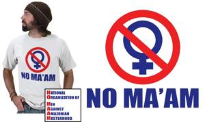 No Maam T-Shirts & Gifts